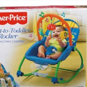 Fisher Price Blue Bug and Friends Infant to Toddler Rocker Review